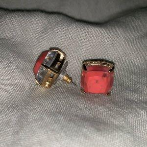 Kate Spade Coral Stud Earrings